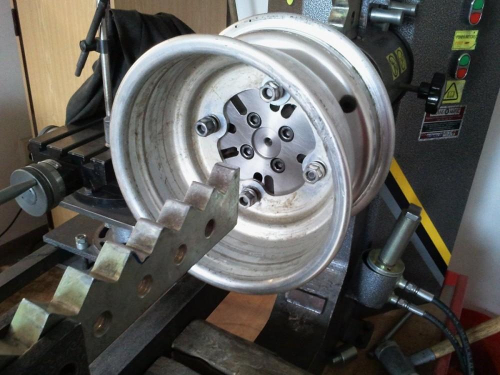 rovnání alu disku