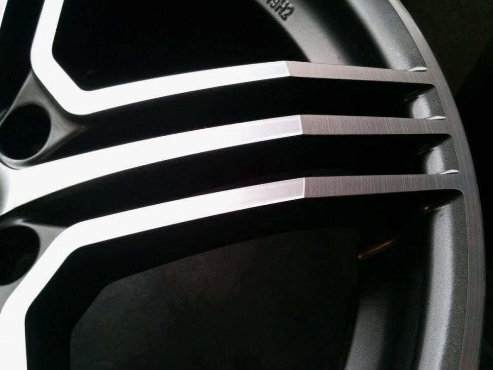 Odstranění škrábanců na alu disku