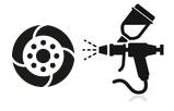 Renovace laků disků
